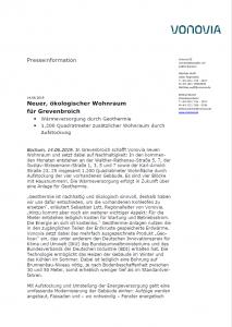 Neuer, ökologischer Wohnraum für Grevenbroich